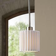 grace blown glass mini pendant light