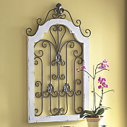 scroll gate wall decor