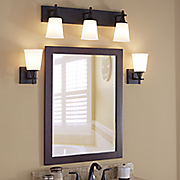 bourne vanity light and sconce