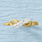 diamond infinity ring 112