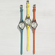 silvertone stirrup watch