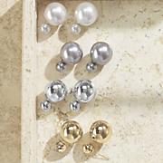 Front/Back Ball Earrings