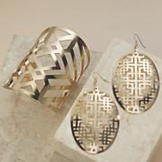 geo cutout jewelry