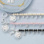 name bead inspiration bracelet