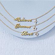 Diamond Inspiration Necklace