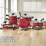 Riverbend 12-Piece Speckled Cookware Set by Paula Deen