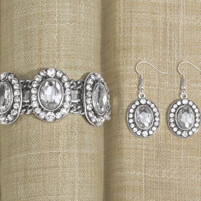 Crystal Bracelet/Earring Set