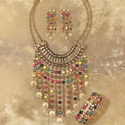 Multicolor Bead Necklace