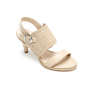 apron strap sandal by midnight velvet