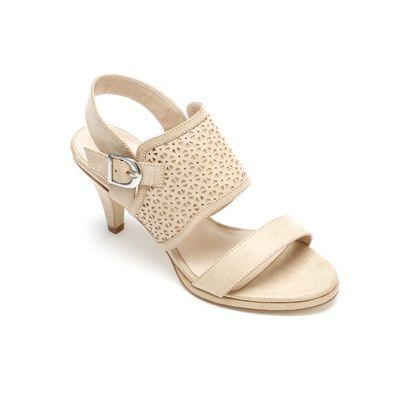 Apron Strap Sandal by Midnight Velvet