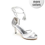 ankle wrap shoe by midnight velvet