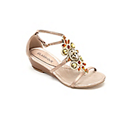 rope trim stone wedge by classique