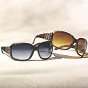 rhinestone chain sunglasses