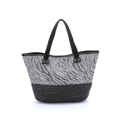 Tribal Straw Tote Bag