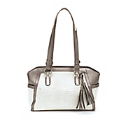 caitlyn reptile satchel by marc chantal