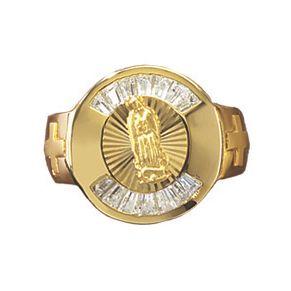 Men's Cubic Zirconia Guadalupe Ring