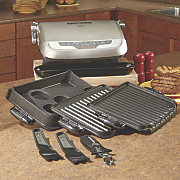 Evolve Grill with 4 Interchangeable Plates by George Foreman