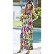 nevaeh tribal print dress