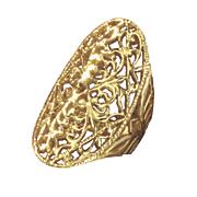 filigree oval ring