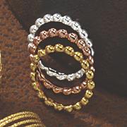 3 pc  stack ring set