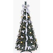 Lighted Pop-Up Tree