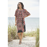 Lehna Paisley Print Dress