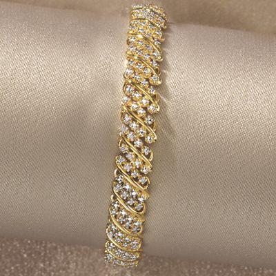 Diamond Arc Bracelet