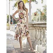 azalea beaded floral dress