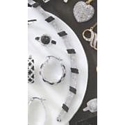 black diamond bar bracelet
