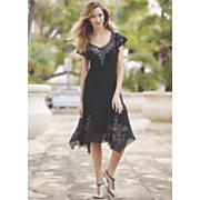faye beaded dress 50
