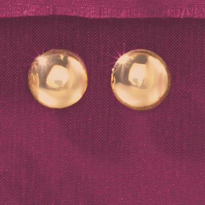 Round Post Earrings