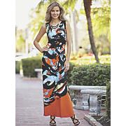abstract swipe dress 74