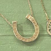 horseshoe pendant 102