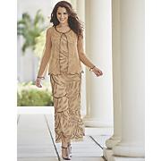 golden jacket dress 108