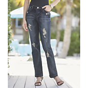 Rhinestone Animal Trim Jean