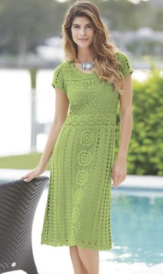 Alissa Crochet Dress