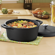 pre seasoned cast iron 5 qt  dutch oven with lid