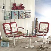 steel retro furniture