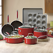 13-Piece Aluminum Cookware and Bakeware Set by Kitchenaid®