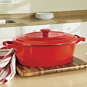 6-Qt. Cast Iron Casserole with Lid by Kitchenaid®
