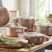 trisha yearwood 10 pc  cookware set