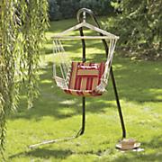 striped swing chair hammock