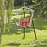 striped swing chair hammock