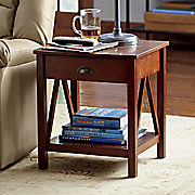 Modern Classic Charging End Table