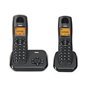 2 phone digital cordless system by rca