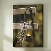 Lit Lavender Canvas