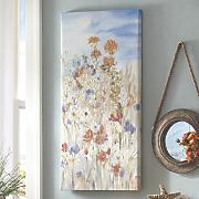 flowers in a field art