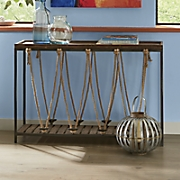 rope console table