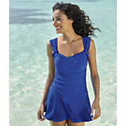solid swimdress 14
