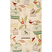 birdcage indoor outdoor rug